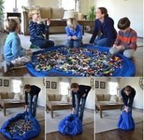 összehuzható játékszőnyeg