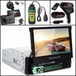 Car and motor accessories, radio, car diagnostic, GPS