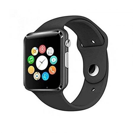 A1 Smart Watch with SIM card, black