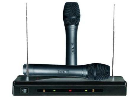 Vezetéknélküli karaoke  rendszer holm0158