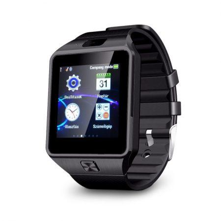 AlphaOne DZ čierné smart hodinky