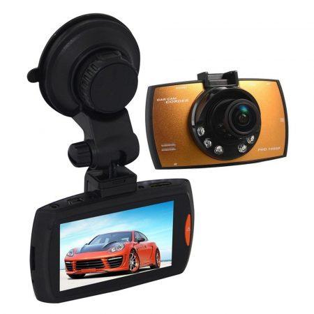 ALphaOne Hd autós kamera G30, fedélzeti kamera -gyorsulás érzékelő,éjjellátó mód,mikrofon