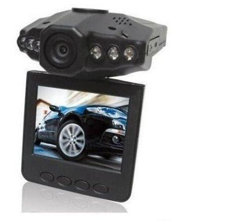 ALphaOne Magyar menüs Autós eseményrögzítő biztonsági kamera - Színes monitorral és éjjellátó funkcióval, HD DVR holm0222