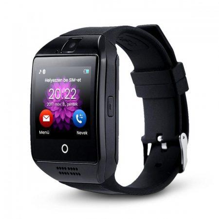 AlphaOne SmartWatch  Q18 zakrivená obrazovka, čierná farba