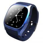 AlphaOne M26 smart hodinky, modre    holm0237