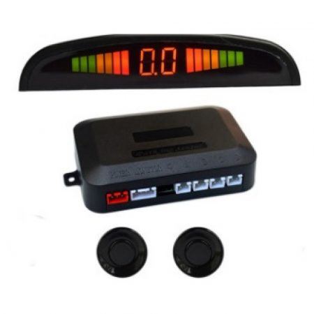 Car reverse backup parking sensor system