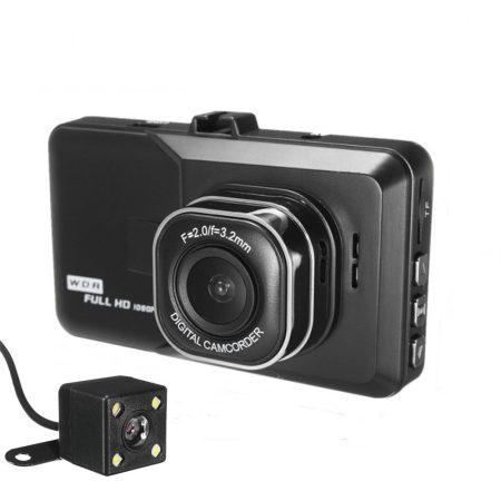 BlackBox autós kamera ,tolató kamerával - Láss tisztán minden forgalmi helyzetben,legyen kamera elől és hátul egyaránt!
