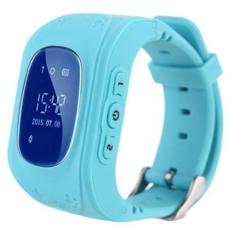 Ceas inteligent Bass Q50 pentru copii albastru-pentru siguranta copiilor