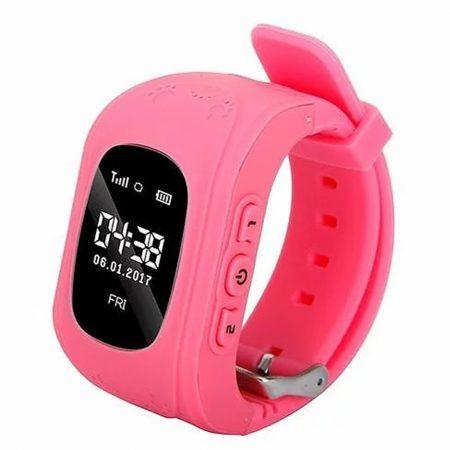 q50 smart watch pink