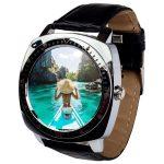 X3 smart watch silver