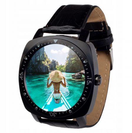 AlphaOne X3 okos óra fekete INGYENES SZÁLLÍTÁS -Elegáns megjelenés,kamera,sim foglalat,zenehallgatás.