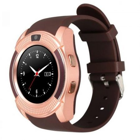 V8 smart watch gold-brown
