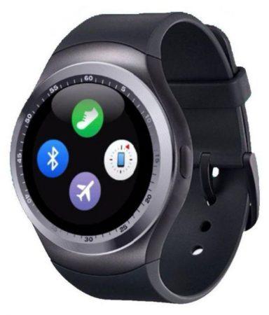 Y1 smart watch silver-black