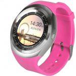 AlphaOne Y1 smart hodinky, ružove