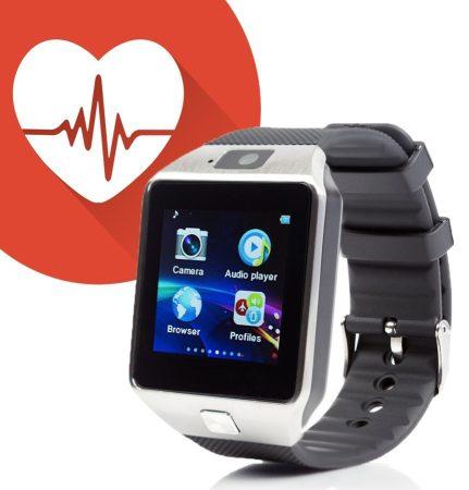 M8 smart watch silver-black