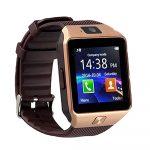 M8 smart watch gold-brown