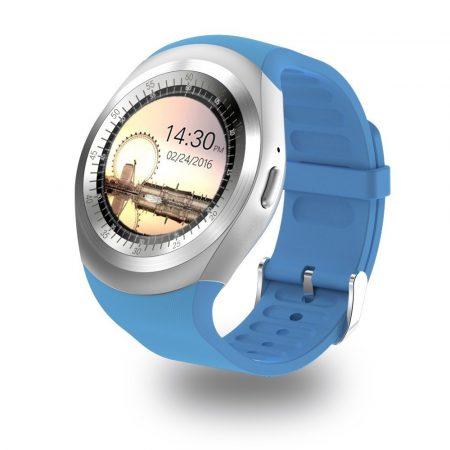 AlphaOne Y1 Okosóra kék - érintőkijelző,értesítések,hívások,lépésszámláló