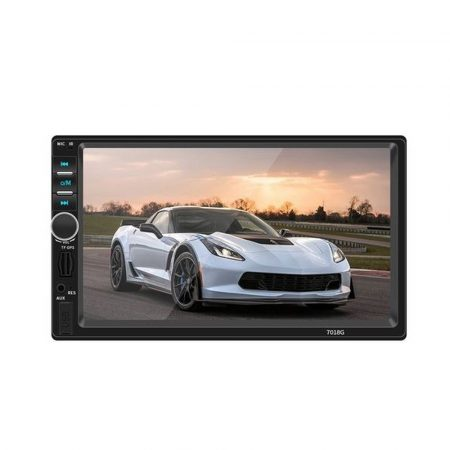 2DIN multimedia system with navigation, and wheel controller, 7108G