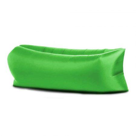 Lazy Bag -zöld-- Felfújható matrac a kényelemért bárhol,bármikor.