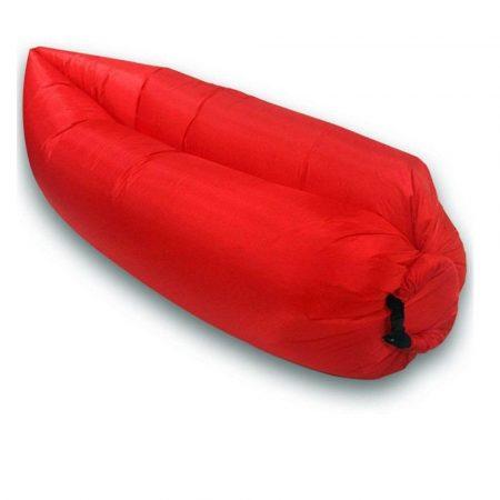 Lazy Bag -piros-- Felfújható matrac a kényelemért bárhol,bármikor.