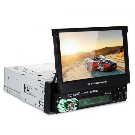 AlphaOne 1 Din hidden screen car radio AO-312