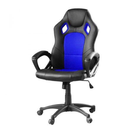 Gamer szék basic, Kék -Sokat vagy fent a világhálón? Felejtsd el az elgémberedett ízületeket!