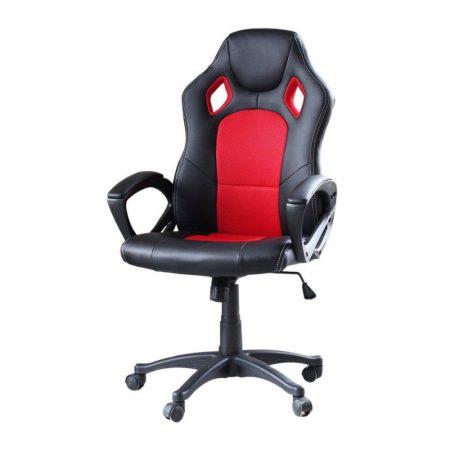 Gamer szék basic, piros -Sokat vagy fent a világhálón? Felejtsd el az elgémberedett ízületeket!