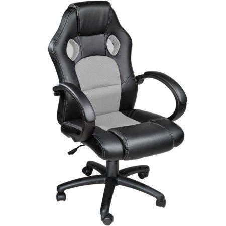 Gamer szék basic, Szürke -Sokat vagy fent a világhálón? Felejtsd el az elgémberedett ízületeket!