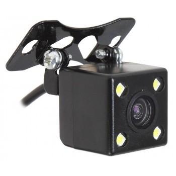 Multipupose rear camera for car radio