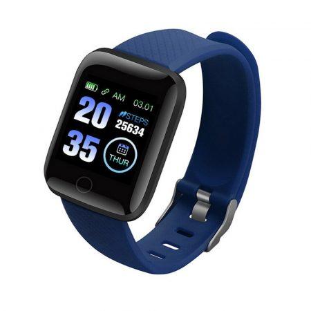 ID116 Plus blue smart bracelet