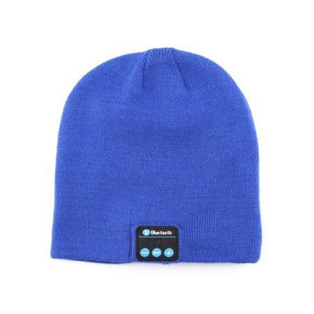 Kék bluetooth sapka