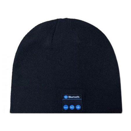 black bluetooth hat