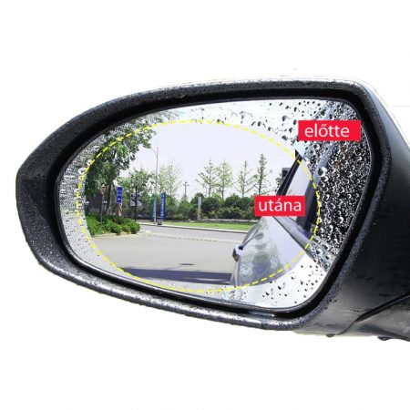 Antifog for rear-view mirror
