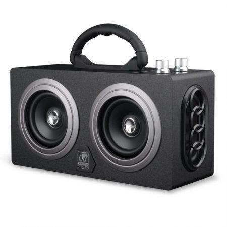 AlphaOne Hangláda Fekete Bluetooth hangszóró -fekete- (előrendelés)