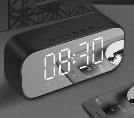 Bluetooth speaker with alarm clock (pre-order)