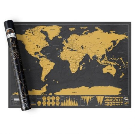 Travel scratch map (pre-order)