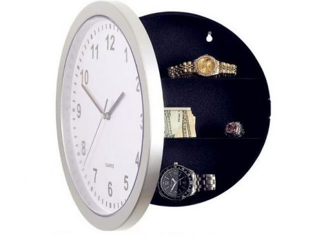 Wall clock with hidden safe  (pre-order)