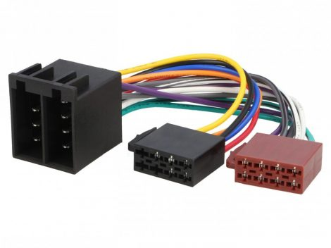 ISO cable for 2 DIN car radio