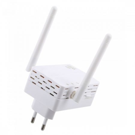 Ladybird double antenna wifi repeater