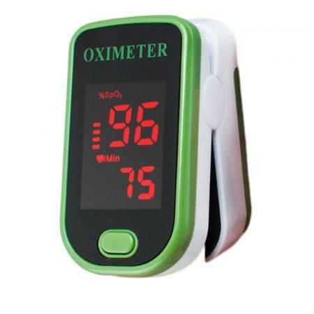 Véroxigénszint mérő, pulzoximéter - LCD kijelzős kisméretű eszköz ,hogy bárhova magaddal vihesd.