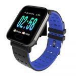 A6 kék okosóra - facebook,gmail, MP3,hívás
