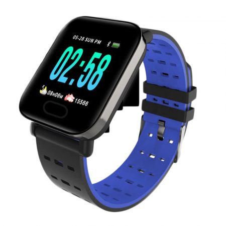 A6 smart watch -blue-