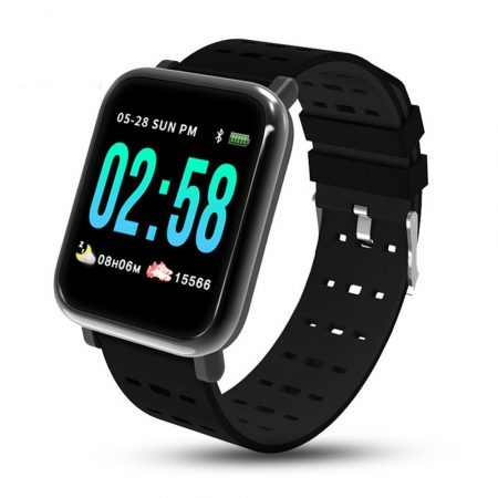 A6 smart watch -black-