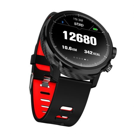 AlphaOne L5 smart watch -red-