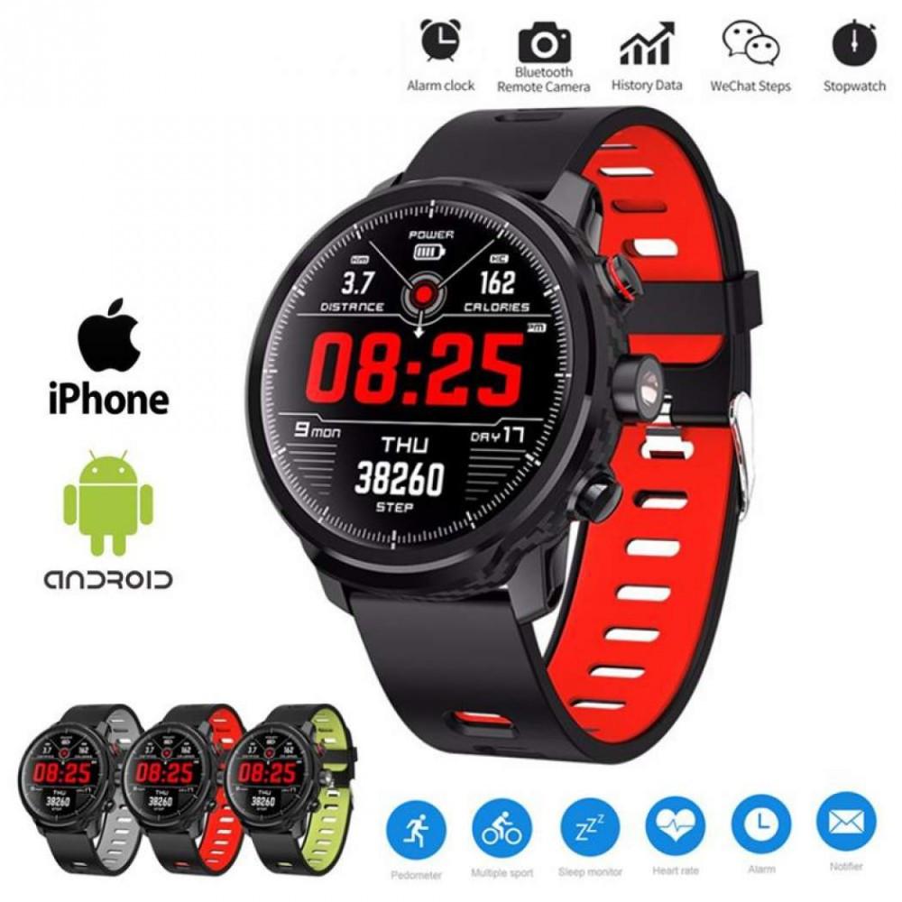 AlphaOne L5 smart watch -red- - Mao Wholesale