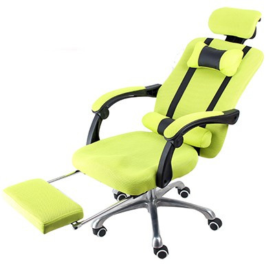 Elnöki forgószék lábtartóval , Limezöld Ingyenes szállítással -Kényelem és komfort,ergonomikus kialakítás!