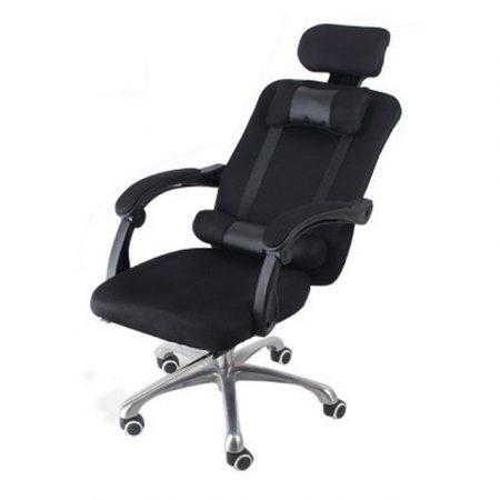 Elnöki forgószék, fekete Ingyenes szállítással -Kényelem és komfort,ergonomikus kialakítás!