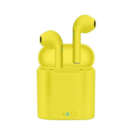 I7S Sárga fülhallgató -Stílusos megjelenés,kiváló hangzás?A legjobb helyen jársz.