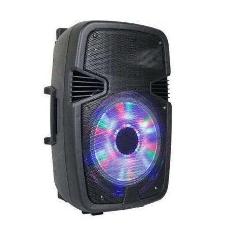 AlphaOne W6008 Hordozható akkus Bluetooth hangfal, beépített led,mikrofonnal