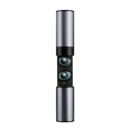 S2 Tws füllhalgató szürke - Vezetéknélküli headset akkumlátoros tokkal ,mikrofonnal.